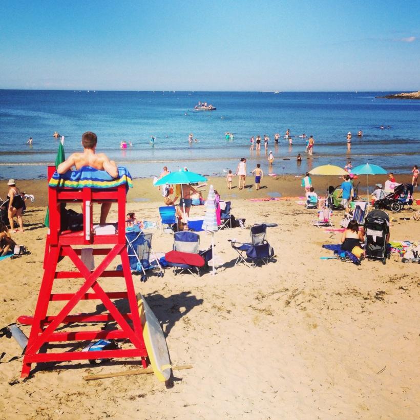 front beach - 5 min
